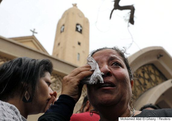 Egypt Church Bombings Leave Dozens Dead On Palm