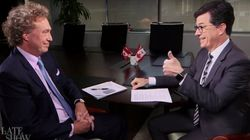 Stephen Colbert Flunks His Canadian Citizenship Interview.