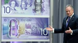 Historic $10 Bill Unveiled To Celebrate Canada's 150th