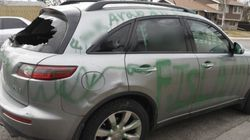 Anti-Islam Graffiti On Calgary Family's SUV Part Of A Growing