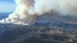 Massive Wildfire Near Fort McMurray Forces Hundreds To