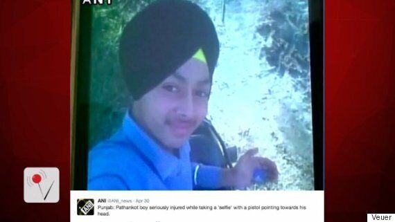 Indian Teen Shoots Himself In Head With Dad's Gun While Taking