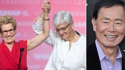 LOOK: George Takei Celebrates Wynne's