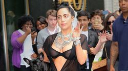 Lady Gaga Shows Off Nipples And French Bulldog Because She's Lady