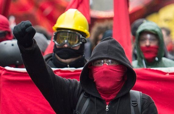 May Day Protest In Montreal Turns