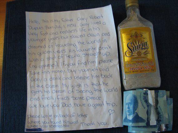 Bottle Found On N.S. Beach Has Money For A Drink, Man's