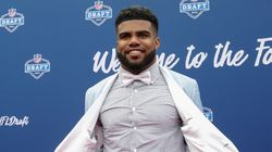 Ezekiel Elliott Wore A Crop Top To The 2016 NFL