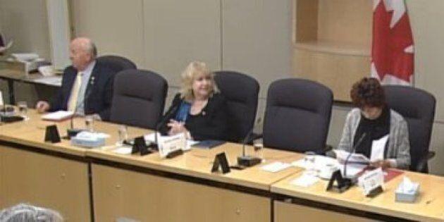 Lynn Beyak Laughs After Conservative Senator Calls Media
