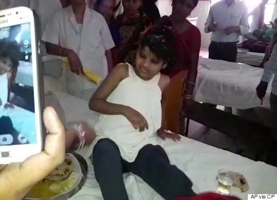 Indian Girl Hospitalized After Being Found Living In Forest With