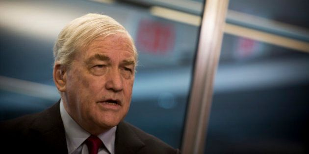 Conrad Black, former chief executive officer of Hollinger Inc., speaks during an interview in Toronto,...