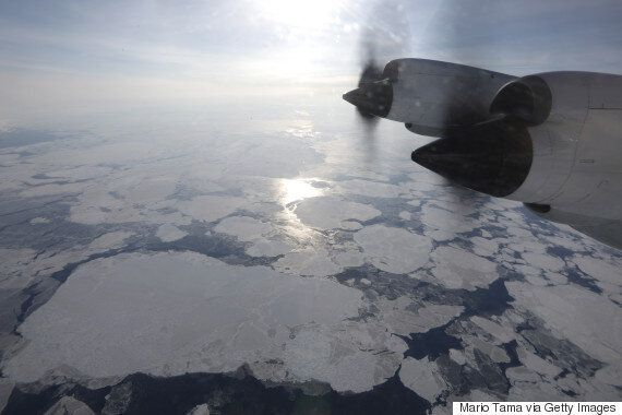 Canada's Shrinking Arctic Ice Is All Too Real In These Aerial