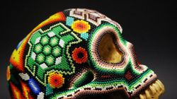 LOOK: Stunning Hand-Beaded Skull Art By Vancouver