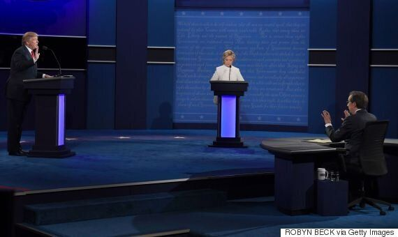U.S. Presidential Candidates Face Off In Final Election