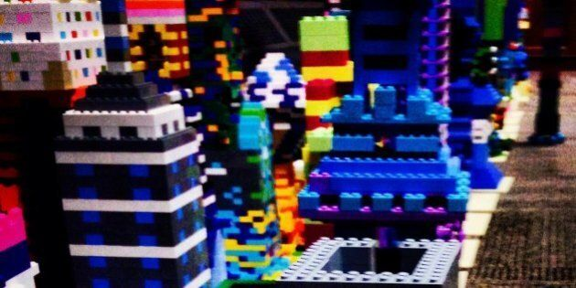 Douglas Coupland's Lego Art Project Is The Best