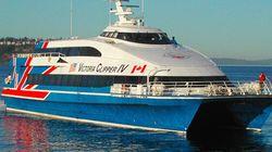 Suspicious Man Arrested Aboard Victoria