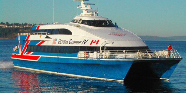 Man In Custody After Victoria Clipper Ferry Set