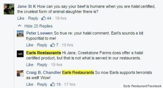 Earls Restaurant Infuriates Albertans By Switching To U.S.
