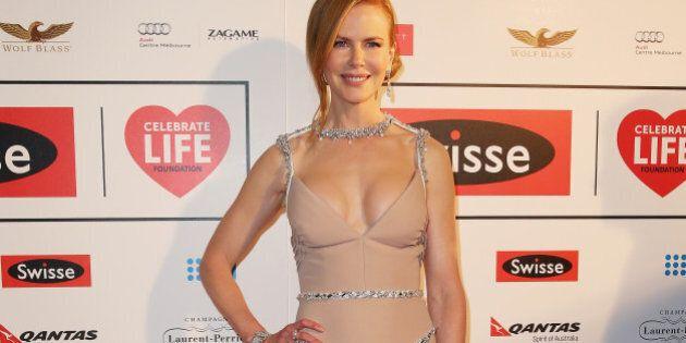 MELBOURNE, AUSTRALIA - JUNE 13:  Actress Nicole Kidman attends the Celebrate Life Ball at Grand Hyatt Melbourne on June 13, 2014 in Melbourne, Australia.  (Photo by Scott Barbour/Getty Images)