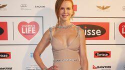 Nicole Kidman Looks Glamourous In