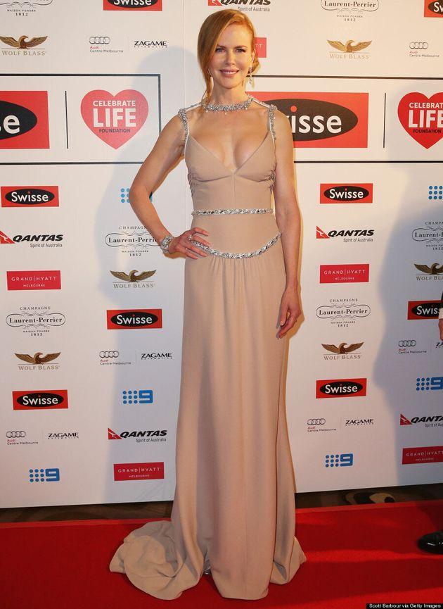 Nicole Kidman Makes Nude Work At Celebrate Life