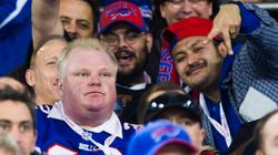 Ford Swarmed By Crowd At Bills