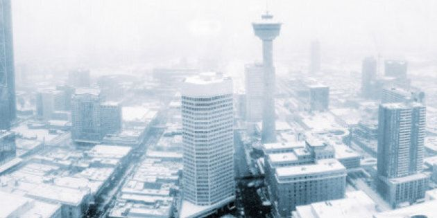 Calgary Blizzard Warning Issued; City Prepares For