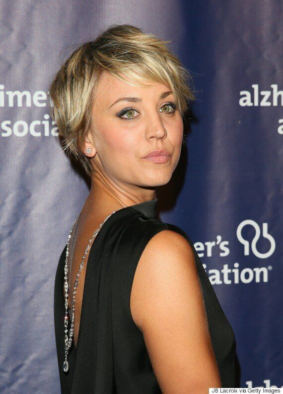 Kaley Cuoco S Hair Is Long Again Thanks To Extensions Huffpost Canada