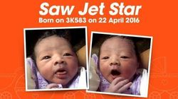 Mom Names Baby Jet Star After Giving Birth On