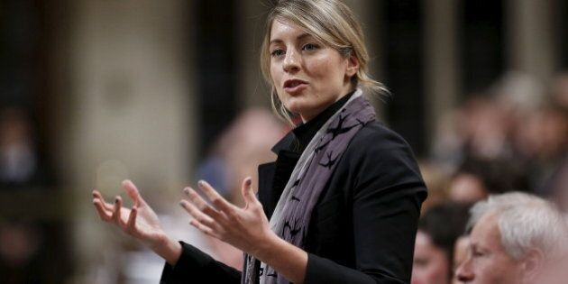 Canada's Heritage Minister Melanie Joly speaks during Question Period in the House of Commons on Parliament Hill in Ottawa, Canada, December 9, 2015.  REUTERS/Chris Wattie