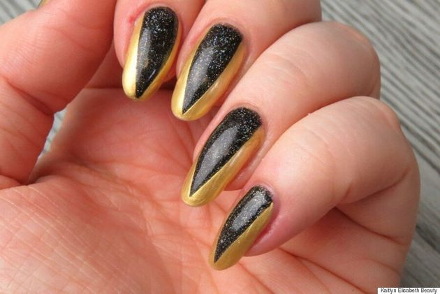 Nail Art: An Easy Metallic Claw