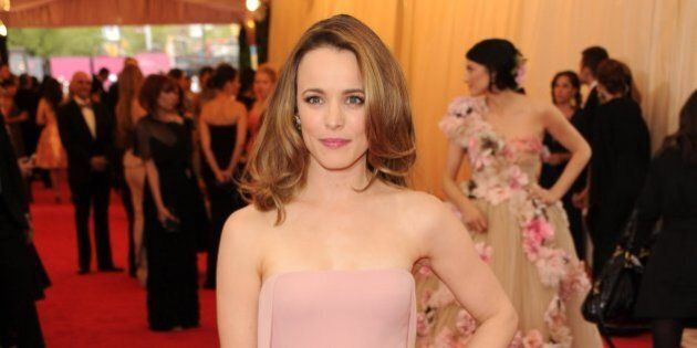 NEW YORK, NY - MAY 05: Rachel McAdams attends the 'Charles James: Beyond Fashion' Costume Institute Gala...