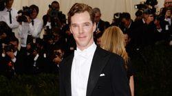 Benedict Cumberbatch Is Dashing In White