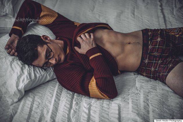 A Harry Potter Boudoir Photo Shoot Happened And It's