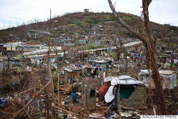 Haiti's Cholera Outbreak One Of Many Hurdles In Rebuilding Post Hurricane