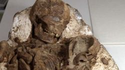 Fossilized Mom Held Her Baby For 4,800