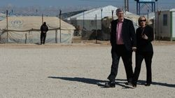 Harper 'Touched' By Tour Of Refugee