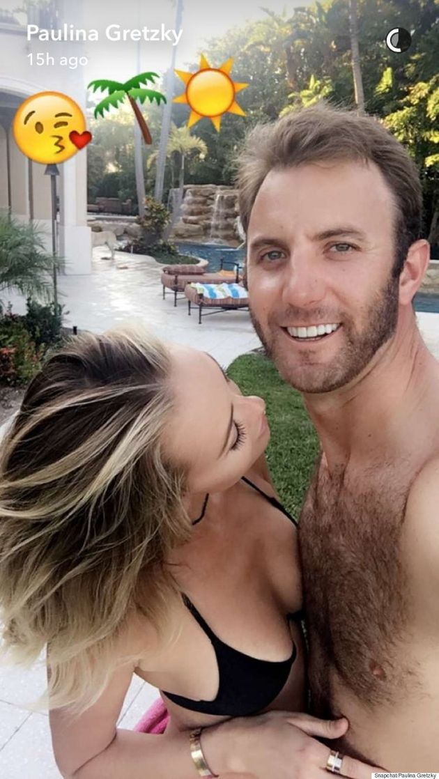 Paulina Gretzky Celebrates #Nochella In Bikini With Fiancé, Dustin