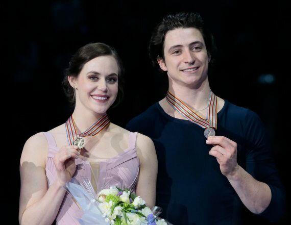 Tessa Virtue And Scott Moir Win 3rd World Figure Skating