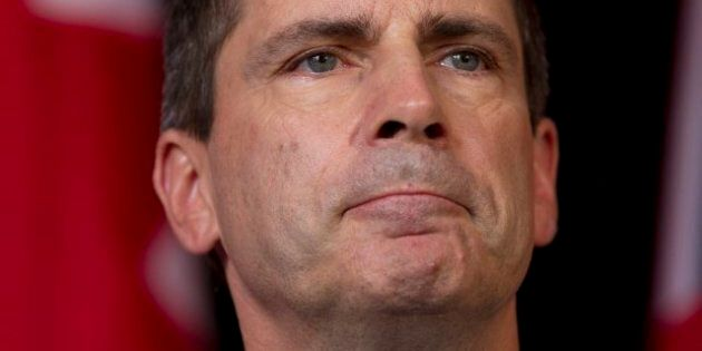 Dalton McGuinty Admits Gas Plant Records 'Overwhelmingly