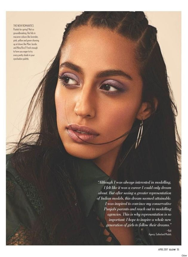 Bali Kaur Bassi Is The First Punjabi Model On A Canadian Fashion Magazine