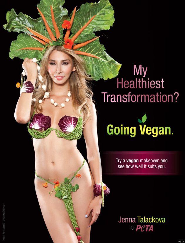 Jenna Talackova Trades In Tiara For Cabbage In Sexy New PETA