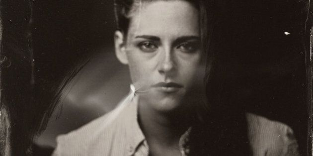 EXCLUSIVE PREMIUM RATES APPLY- Kristen Stewart poses for a tintype (wet collodion) portrait at The Collective...