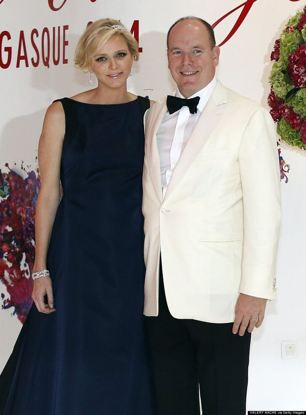 Princess Charlene Cleverly Conceals Her Baby Bump In Dior
