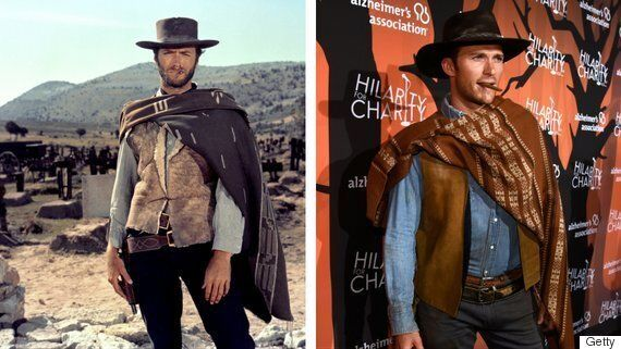 Scott Eastwood Just Dressed Up As His Dad For