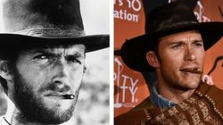 Scott Eastwood As His Dad For Halloween.