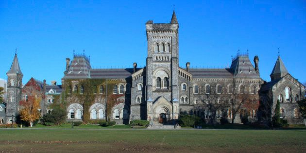 'The main building of University College, building, built 1853, considered one of North America's finest...