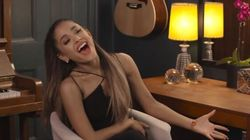 Watch Ariana Grande Hilariously Lip Sync Through This