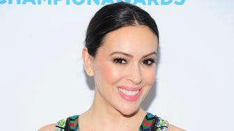 NEW YORK, NY - APRIL 9: Alyssa Milano attends Safe Horizon's Champion Awards at The Ziegfeld Ballroom on April 9, 2019 in New York City. (Photo by Owen Hoffmann/Patrick McMullan via Getty Images)