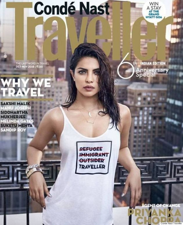 Priyanka Chopra Apologizes For Conde Nast Traveller Cover That Insulted