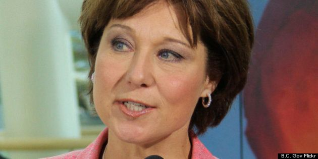 Christy Clark's 'Ethnic Media Only' Press Conference